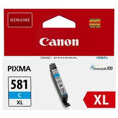 image Canon CLI-581XL Cartouche C Cyan XL (Emballage carton)