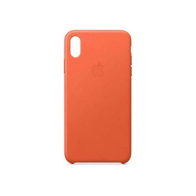 image Apple Coque en cuir (pour iPhoneXS Max) - Coucherdesoleil