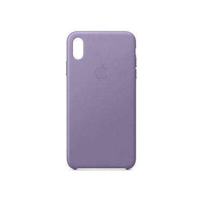 image Apple Coque en cuir (pour iPhoneXS Max) - Lilas