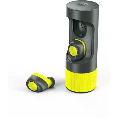 image Motorola VerveOnes + ME - Ecouteurs Intelligent Bluetooth stéréo smart compatibles - Oreillettes sans fil pour smartphone - Noir/Vert