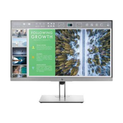 image HP EliteDisplay E243 Moniteur Professionnel (23,8 pouces/Full HD) (HDMI, DisplayPort, VGA, USB 3.0, Fonction de Pivot, Temps de Réponse 5 ms, 60 Hz), Noir-Argent