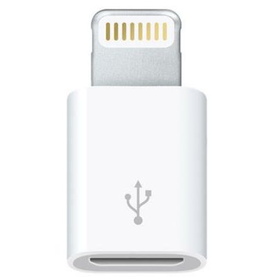 image Apple Adaptateur Lightning vers Micro USB