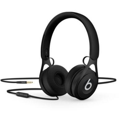 image Casque supra-auriculaire filaire BeatsEP- Sans batterie pour une écoute sans limite, micro et commandes intégrées- Noir