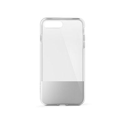 image Belkin - F8W852btC01 - SheerForce - Coque avec Dos Transparent pour iPhone 7+/8+ - Argent