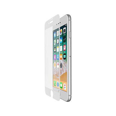 image Belkin - ScreenForce - Film de protection d'écran en verre tempé avec couverture bord à bord (edge to edge) pour iPhone 6, 6s, 7, 8, Blanc