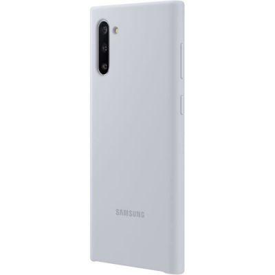 image SAMSUNG Coque Silicone Silver Galaxy Note 10