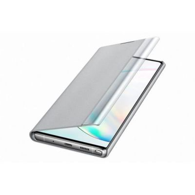 image Samsung Clear View Cover Galaxy Note 10+ Argenté