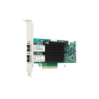image Lenovo Emulex Gen 6 - Adaptateur de Bus hôte - PCIe 3.0 x8 Profil Bas - 16Gb Fibre Channel x 2 - pour ThinkSystem SR250, SR590, ST250