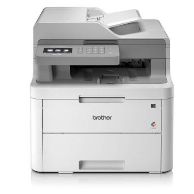 image Brother DCP-L3550CDW Imprimante Multifonction 3 en 1 Laser - Couleur - Silencieuse 45db- Mémoire 512Mo - Impression Recto-verso - Airprint