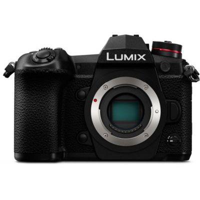 image Panasonic Lumix G9   Appareil photo Hybride Expert (Capteur 4/3 20MP, Double stab., Viseur OLED, Écran orient. tact., AF DFD 225 Zones, 4K60p, Rafale AFC 20ips, Tropicalisé) Noir – Version Française