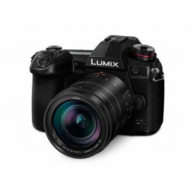 image Panasonic Lumix Appareil photo Hybride Pro Photo DCG9LEFK +LEICA 1260 F2.84.0 (Capteur 4/3 20MP, Double stab., Viseur OLED, écran orient. tact., 4K60p, Tropicalisé) Noir – Version Française
