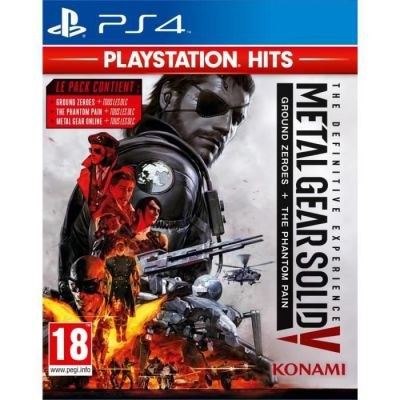 image MGS The Definitive Experience Playstation Hits FR