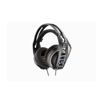 image Plantronics RIG 400 Binaural Bandeau Noir, Orange - Casques Audio