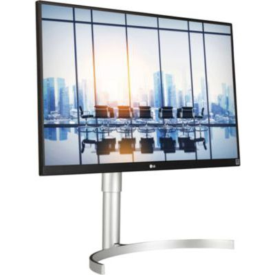 "image LG UltraFine 27UL850-W, Moniteur IPS UHD 4K 27"" (3840x2160, 5 ms, sRGB 99%, HDMI, DisplayPort, USB-C, USB 3.0, HDR 400, Hauts Parleurs, FreeSync, Ajustable Hauteur, Pivotable)"