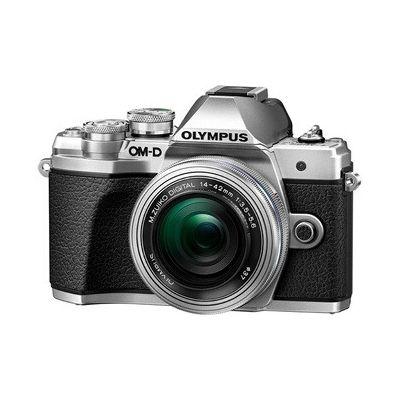 image Olympus OM-D E-M10 Mark III Kit, Appareil Photo Micro 4/3 (16 MP, Stabilisation d'Image 5 Axes, Viseur Électronique) + Objectif M.Zuiko 14-42mm EZ Zoom, Argent