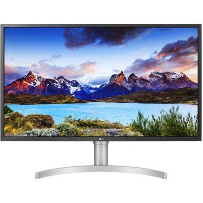 """image LG UltraFine 32UL750-W, Moniteur VA UHD 4K 32"""" (3840x2160, 4 ms, DCI-P3 95%, HDMI, DisplayPort, USB-C, USB 3.0, HDR, Hauts Parleurs, FreeSync, Ajustable Hauteur)"""