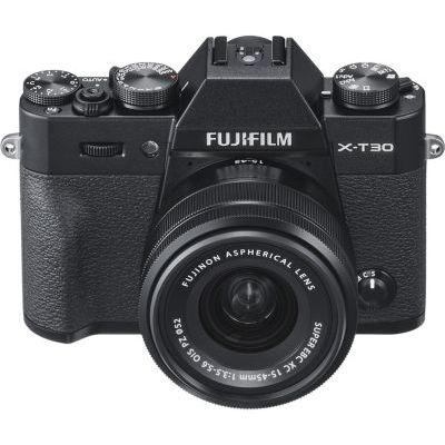 image Fujifilm 16619267 Appareil Photo Hybride X-T30 + XC15-45mmPZ Noir