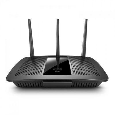 image Linksys EA7300-EU Routeur Wi-Fi MU-MIMO Double Bande MAX-Stream AC1750 (Routeur Wi-Fi rapide, Streaming 4K UHD et Jeux Vidéo, 4 Ports Gigabit Ethernet)