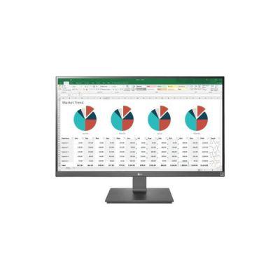 image LG UltraFine 27UK670-B, Moniteur IPS UHD 4K 27'' (3840x2160, 5ms, sRGB 99%, HDMI, Display Port, USB-C, USB 3.0, FreeSync, Ajustable Hauteur, Pivotable)