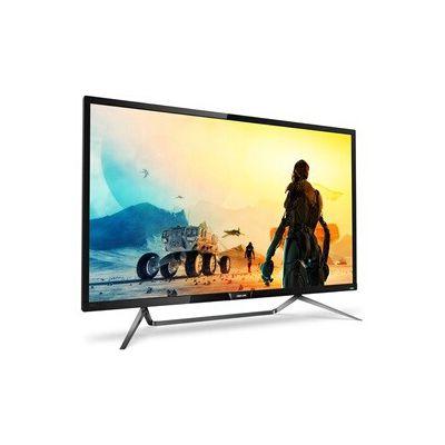 """image Philips Moniteur 4K HDR avec Ambiglow 436M6VBPAB/00 - Écrans Plats de PC (108 cm (42.5""""), 3840 x 2160 Pixels, 4K Ultra HD, LCD, 4 ms, Noir)"""