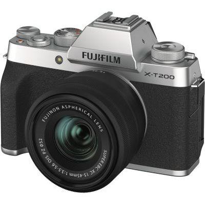 image Fujifilm Kit X-T200 Appareil photo Argent + XC15-45 mm