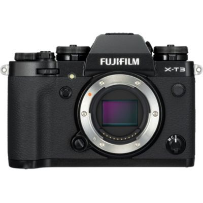 image Fujifilm Appareil photo compact hybride X-T3 26,1 Mpix Noir/Argent + Vg-XT3 (grip d'alimentation vertical)