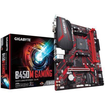 image Gigabyte B450M Gaming Carte mère Intel AMD B450 Socket AM4