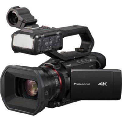 image Panasonic Caméscope Semi-Pro 4K HC-X2000E (Qualité vidéo 4K 60p, Zoom Optique Leica 24x, 25mm, Stabilisé, Viseur, Enr. Interne 4:2:2 10 bit 4K 30p, Torche LED, 2 Prises XLR) Noir – Version Française