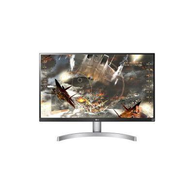 """image LG 27UL600-W - Écran LED - 27"""" - 3840 x 2160 4K - IPS - 350 CD/m² - 1000:1-5 ms - 2xHDMI, DisplayPort - Noir, Blanc"""