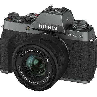 image Fujifilm Kit X-T200 Appareil photo Dark Silver + XC15-45 mm