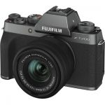 image produit Fujifilm Kit X-T200 Appareil photo Dark Silver + XC15-45 mm - livrable en France