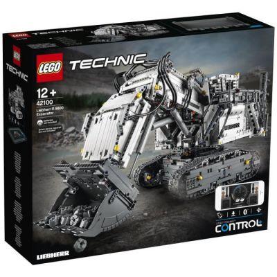 image produit LEGO Technic Set de Construction la Pelleteuse Liebherr R 9800, 42100, 4108 Pièces - livrable en France