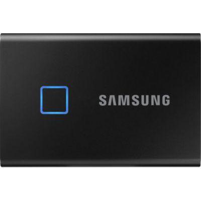 image SAMSUNG T7 Touch 500 Go USB 3.2 SSD externe noir - MU-PC500K/WW