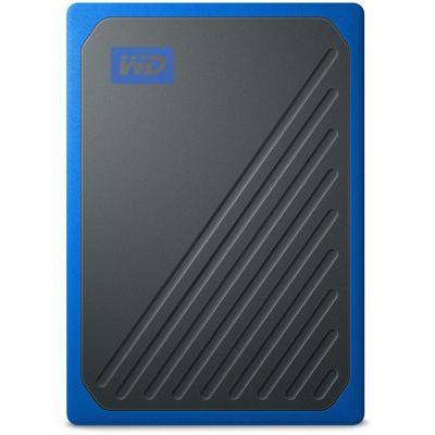 image WD - My Passport Go 2TB - Disque SSD Portable - Finition Cobalt