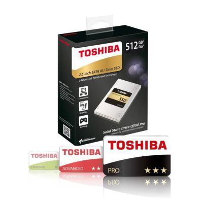 """image Toshiba Q300 Pro 2016 512 Go Disques SSD internes (6,4 cm (2,5""""), SATA)"""
