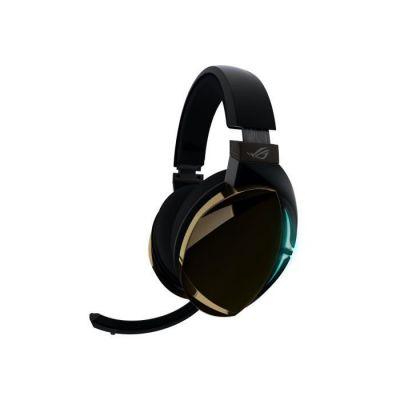 image ASUS ROG Strix Fusion 500 Binaural Bandeau Noir Casque audio - Casques audio (Console de jeu/PC/jeux, Binaural, Bandeau, Noir, Multicolore, Toucher)