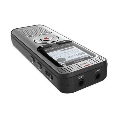 image produit Philips Voice Tracer DVT2000 avec 4 Go + entrée pour carte micro SD + radio FM Argent - livrable en France
