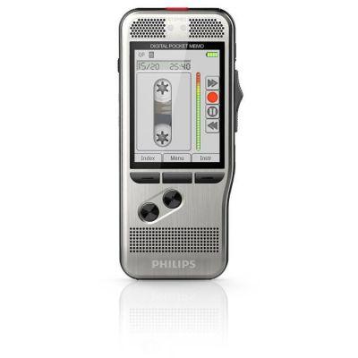image Philips PocketMemo DPM7200 Enregistreur vocal équipé d'une carte SD de 8 Go