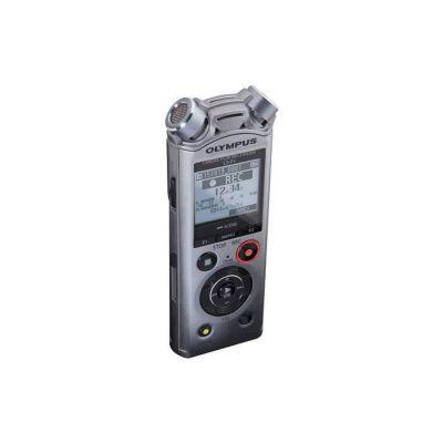 image Olympus LS-P1 | Enregistreur audio numérique Hi-Res avec microphones stéréo directionnels, connecteur USB, filtre passe-bas, suppression du bruit, microphone zoom, équilibreur vocal et mémoire de 4 Go