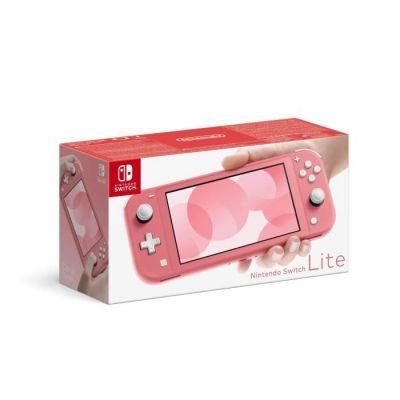 image Console Nintendo Switch Lite Corail