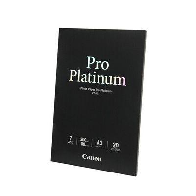 image Canon PT-101 Papier Photo Pro Platinum Format A3 (20 feuilles)