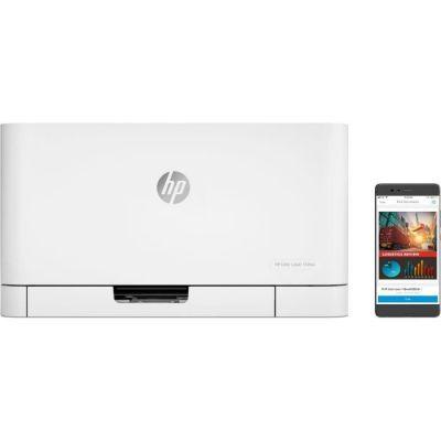 image HP Color Laser 150NW Couleur 600 x 600 dpi A4 WiFi - Imprimantes Laser Couleur, 600 x 600 dpi, A4, 150 Feuilles, 18 ppm