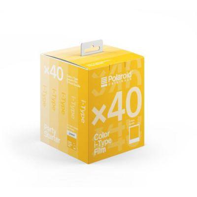 image Polaroid - 6010 - Film instantané couleur pour i-Type - 5 Pack - 40 Photos
