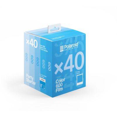 image Polaroid - 6013 - Films instantanés Couleur pour 600 et i-Type - 5 Packs - 40 Photos