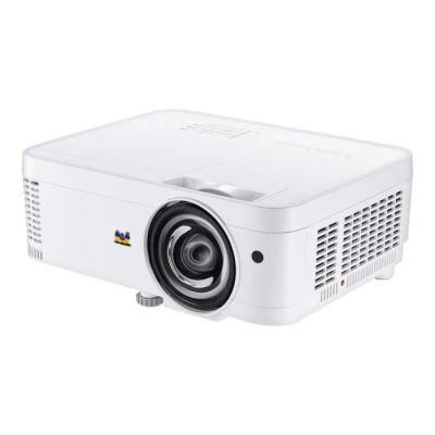 image produit ViewSonic PS600W Vidéoprojecteur WXGA 1280x800 Pixels, 3500 lumens, compatible 3D, HDMI, VGA, Haut-Parleurs 10W, courte focale
