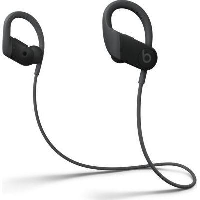 image BeatsÉcouteurs sans Fil Powerbeats  - Puce Apple H1, Bluetooth, Résistants à la Transpiration - Noir (2020)