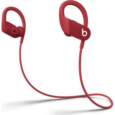 image Beats Écouteurs sans Fil Powerbeats  - Puce Apple H1, Résistants à la Transpiration - Rouge (2020)