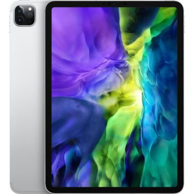 image Apple iPad Pro (11pouces, Wi-Fi + Cellular, 256Go) - Argent (2e génération - 2020)