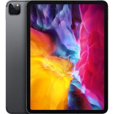 image Apple iPad Pro (11pouces, Wi-Fi + Cellular, 128Go) - Gris sidéral (2e génération - 2020)