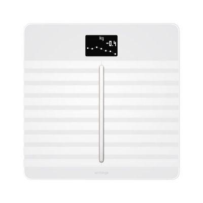 image Withings Body Cardio - Balance Connectée avec Composition Corporelle (Poids, Masse Grasse/Musculaire/Osseuse, d'Eau), Rythme Cardiaque et VOP, 12 Mois Rechargeable USB, Pèse Personne Impédancemètre